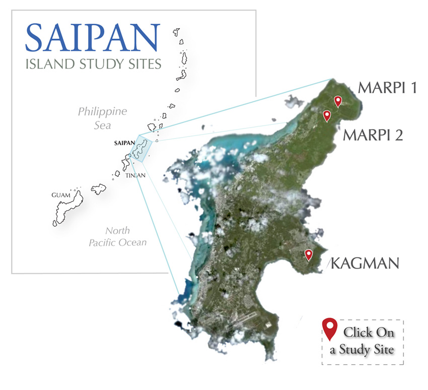 Saipan Island On Map